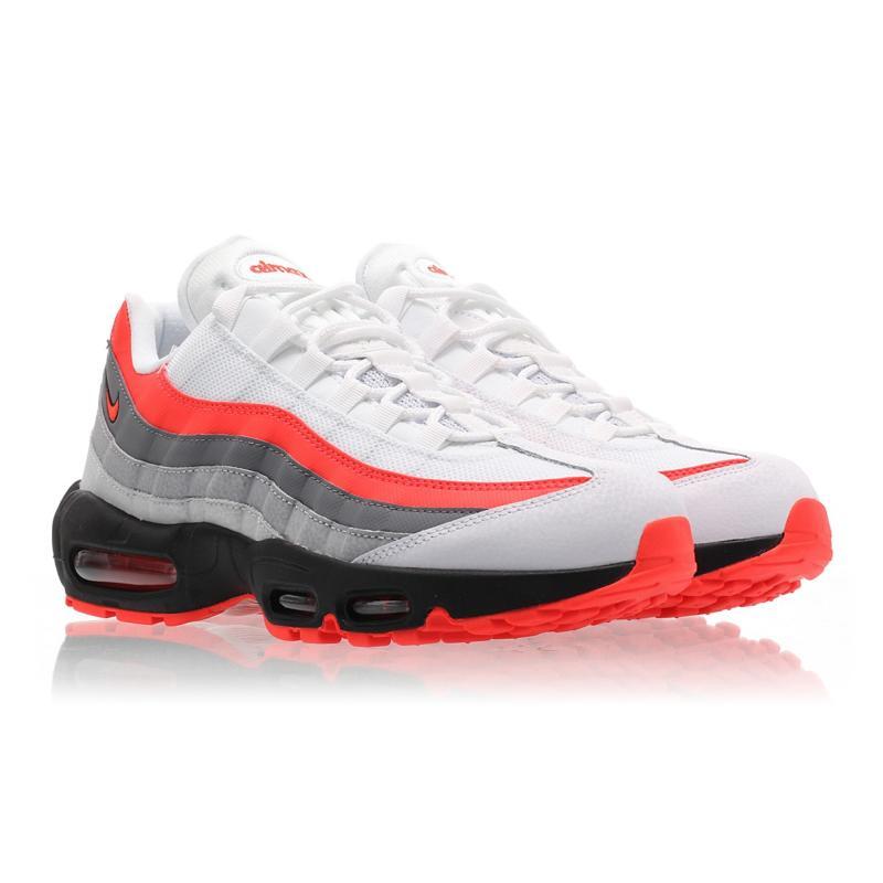 c863006e34302 Nike Air Max 95 Essential White Bright Crimson Black Pure Platinum ...