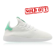 Pharrell Williams x Adidas Tennis White Green