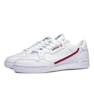 adidas Continental 80 Cloud White Scarlet
