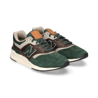 New Balance CM997HXA Green Brown