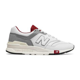 New Balance CM997HGA White Burgundy