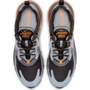 "Nike Air Max 270 React ""Wolf Grey Total Orange"""