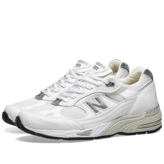 "New Balance M991WHI ""Made in England"""