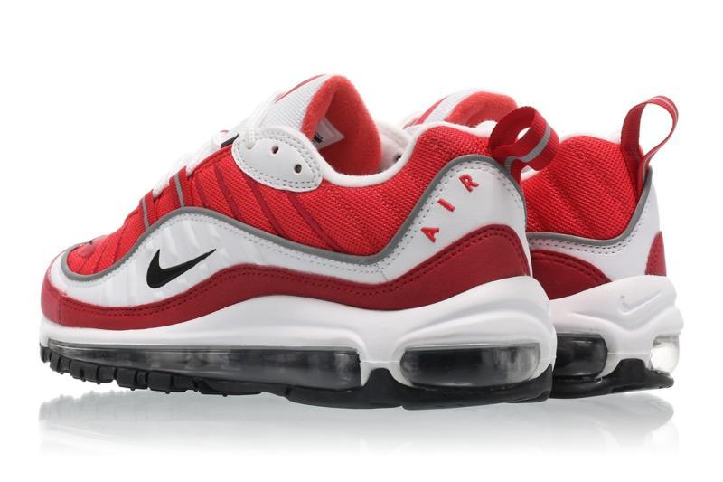 Nike Air Max 98 rojo